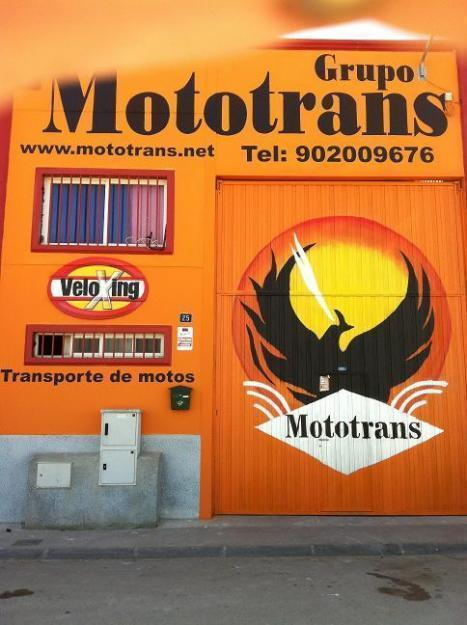 mototrans transporte de motos