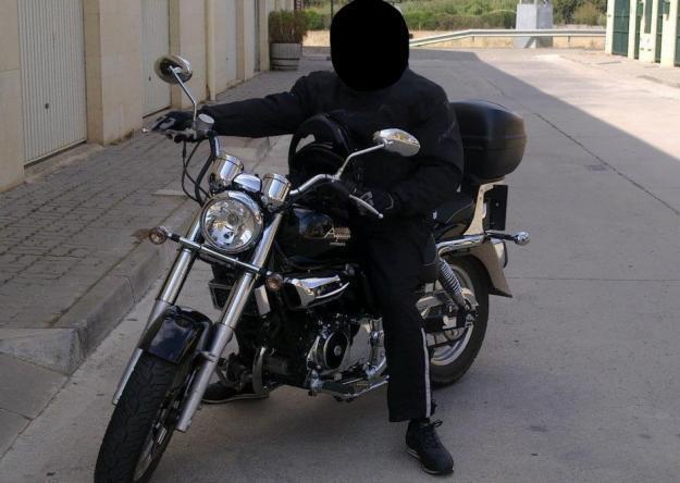 Moto hyosung - aquila 125 km:2750 ¡perfecto estado!