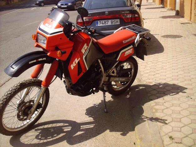 Kawasaki enduro