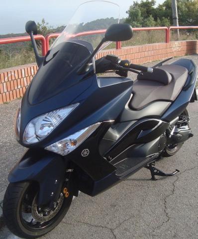 2010 Yamaha t-max negro 500 abs