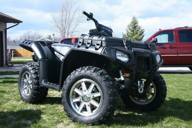 2010 Polaris 850 Sportman quad
