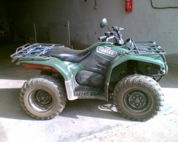 quad-ATV yamaha kodiak 4x2 400cc verde