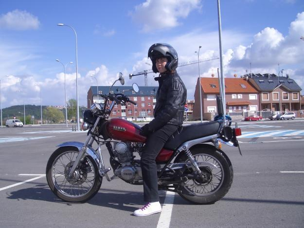 moto yamaha sr special 250