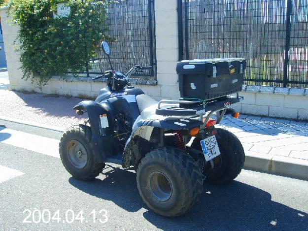 vendo moto quad
