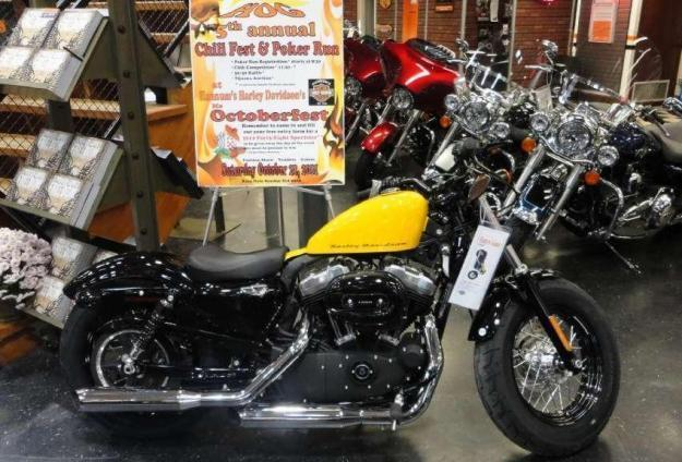 2012 Harley Davidson Sportster XL 1200 X Forty-Eight