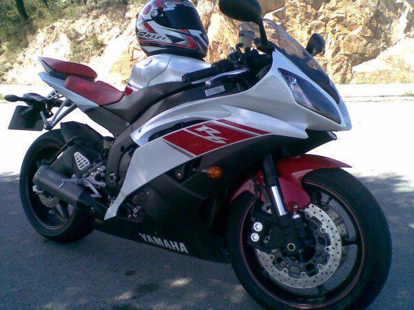 Yamaha YZF R6  600cc de Finales 2008