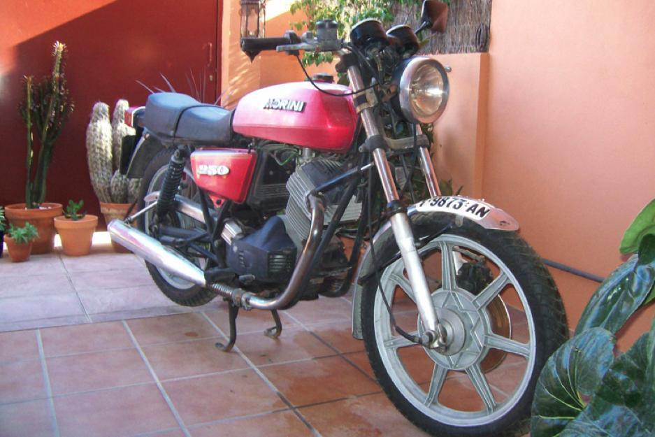 ocasion moto morini 250 cc año 1980
