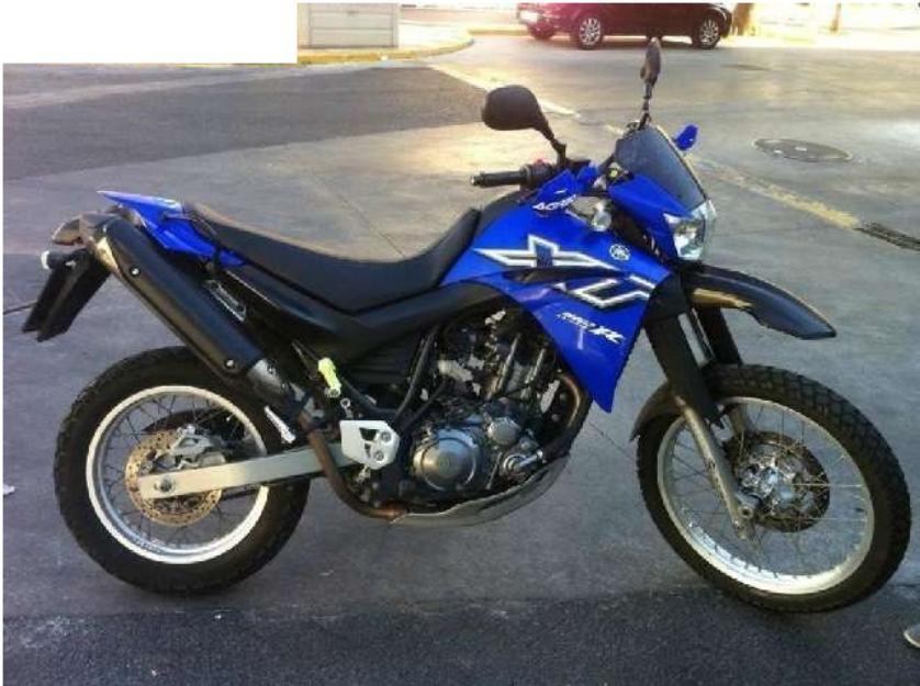 Yamaha - xt 660- no acepto cambios