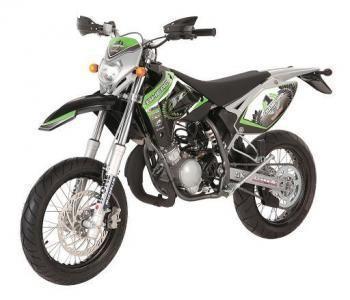Sherco sherco champion france sm 50cc verde