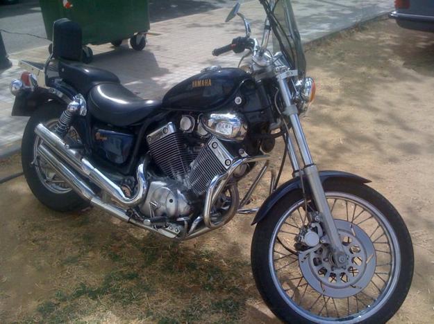 Vendo O Cambio Yamaha Virago 535 Por Vespa ,lambretta O Sanglas Anterior al 82