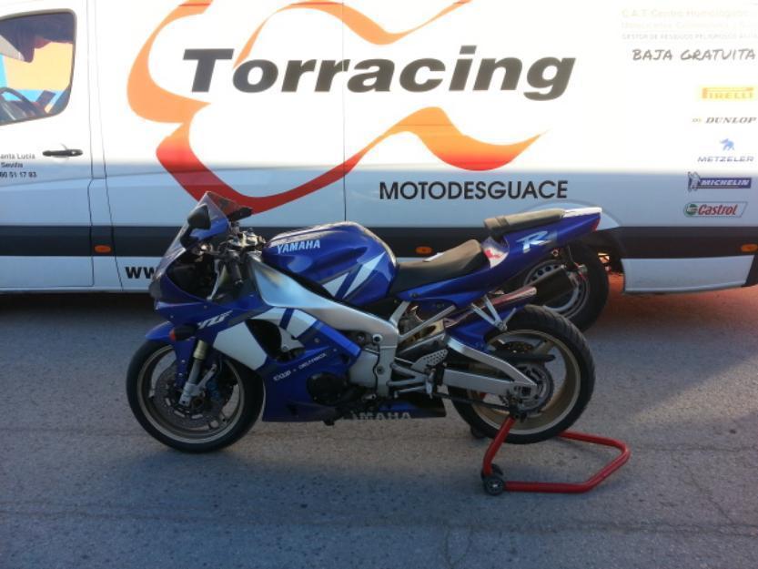 Despiece completo Yamaha R1 año 2000/2001